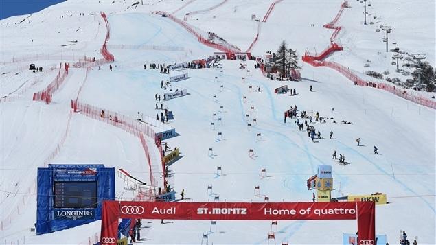 L'épreuve par équipe des finales de la Coupe du monde de ski alpin.