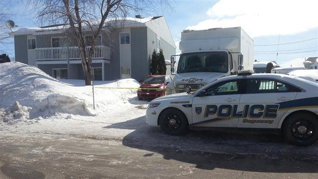 Le corps a été découvert sur la rue Rimbaud à Chicoutimi