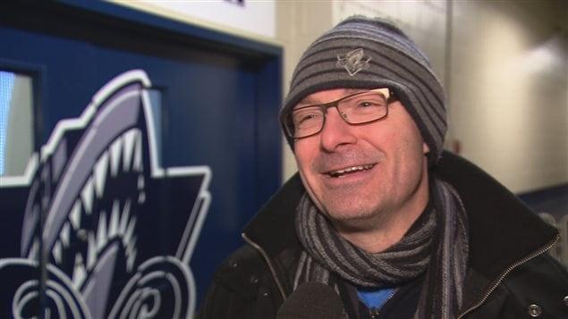 L'entraîneur-chef de l'Océanic de Rimouski, Serge Beausoleil.