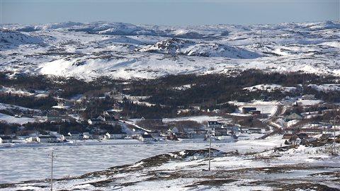 Village de Rivière-Saint-Paul en Basse-Côte-Nord.