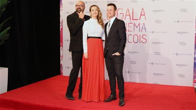 Ricardo Trogi, Christine Beaulieu et Louis Morissette du film «Le mirage»
