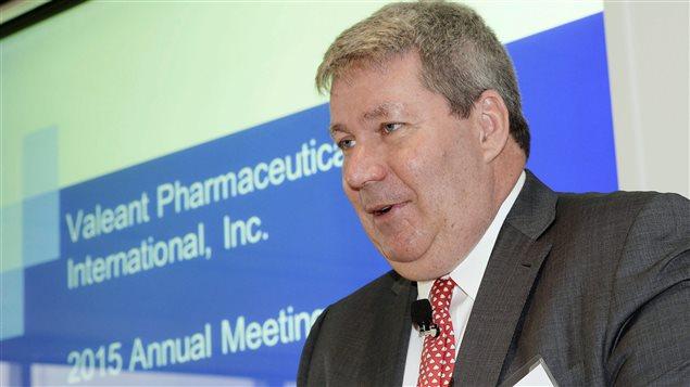 Michael Pearson, PDG de Valeant