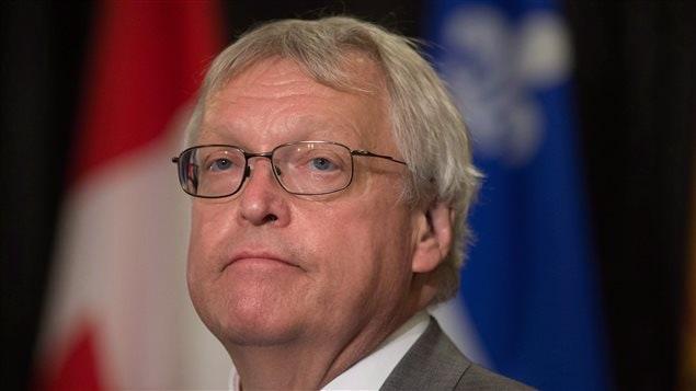 Le ministre de la Santé Gaétan Barrette