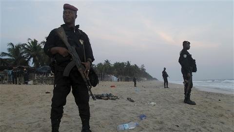 Six assaillants ont été tués par les forces de sécurité après avoir attaqué trois hôtels en bord de mer à Grand-Bassam.