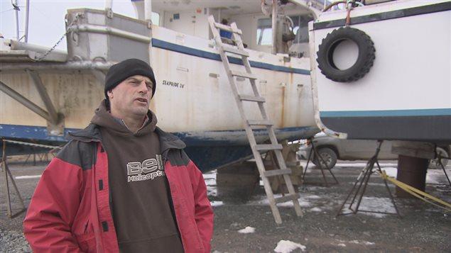 Ghislain Cyr, pêcheur, L'Étang-du-Nord