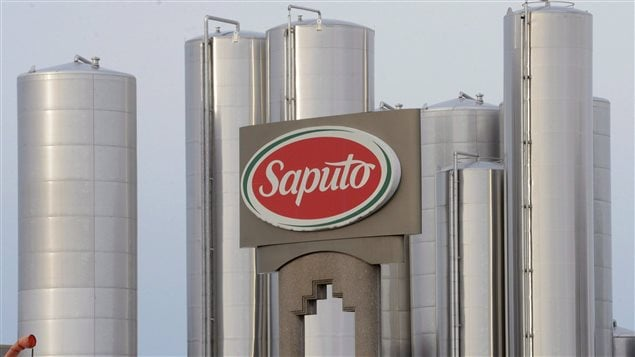 Une usine Saputo