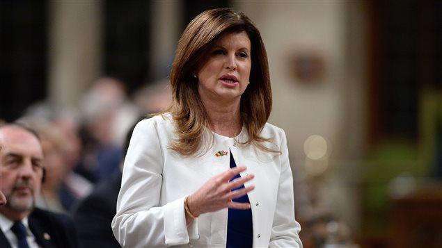 Rona Ambrose, cheffe intérimaire du Parti conservateur du Canada