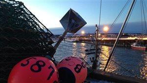 Crabiers au port de Rimouski