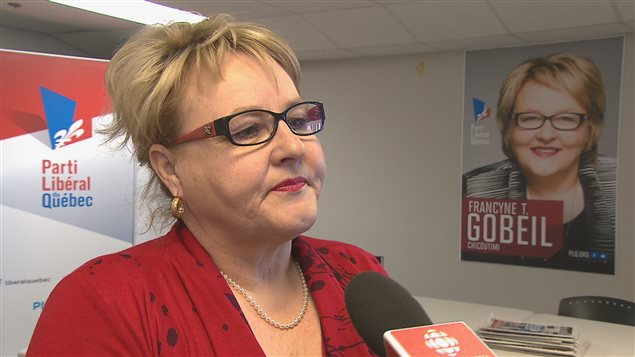 Francyne T. Gobeil, candidate du Parti libéral