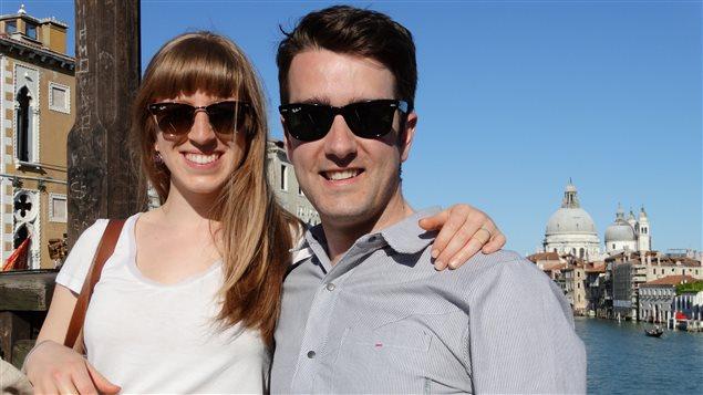 Annie-Pier Beauregard et Jordan Dugas