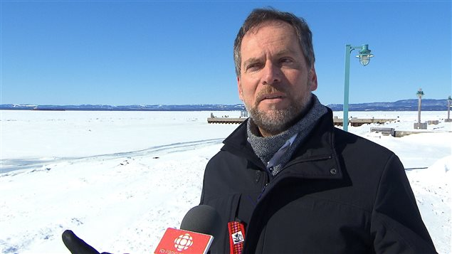 Réjean Porlier, maire de Sept-Îles