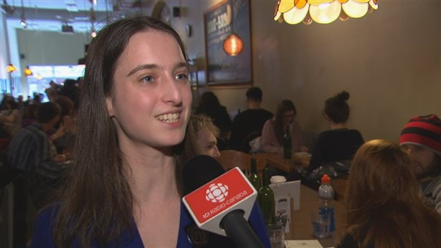 Catherine Bouchard-Tremblay, candidate d'Option nationale
