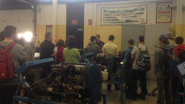 Journée portes ouvertes eu Centre de formation professionnelle de Val-d'Or