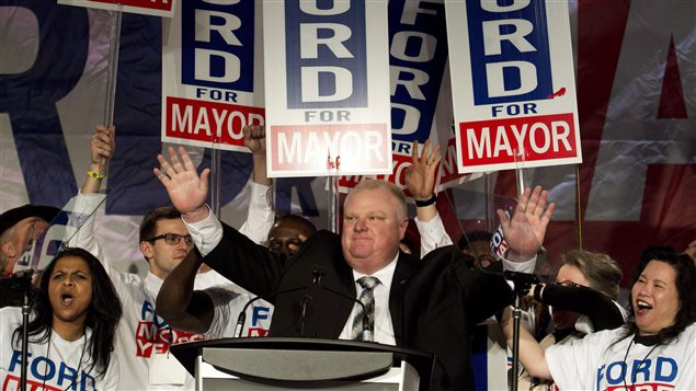 L'ancien maire de Toronto Rob Ford a succombé au cancer.