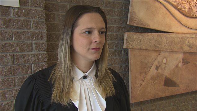 Alexandra Longueville, l'avocate de la défense