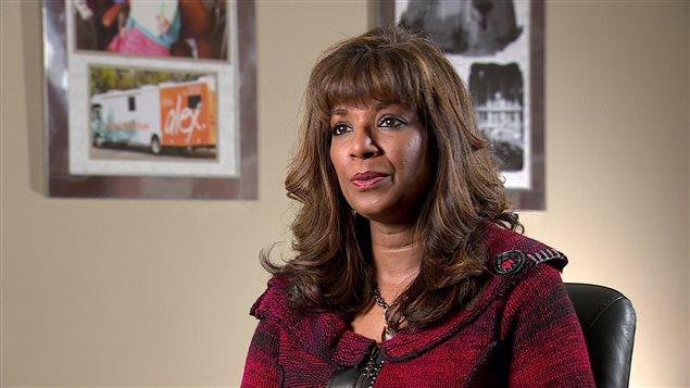 Denise Kokaram, directrice du programme Alex Dental Health Bus