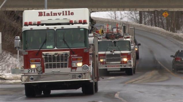 La Ville de Rosemère a signé une entente de 20 ans avec le service des incendies de Blainville pour qu'il assure la couverture de son territoire.
