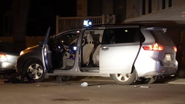 Tentative de meurtre dans l'arrondissement Saint-Léonard.