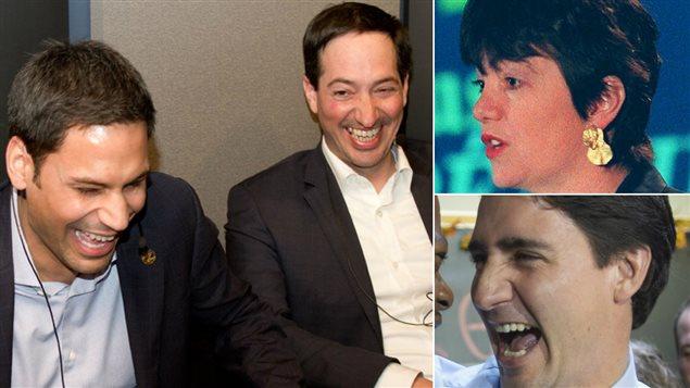 Gerry Sklavounos, Stéphane Bédard, Sheila Copps et Justin Trudeau