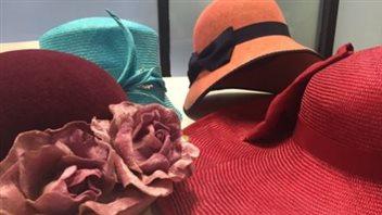 Des chapeaux de Pâques confectionnés par Sherri Hrycay.