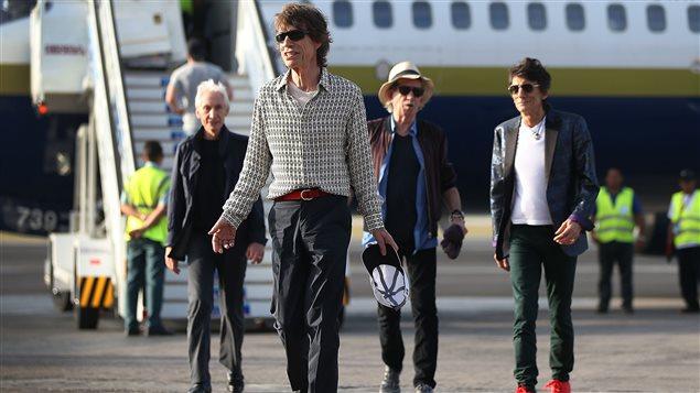 Les Rolling Stones sont arrivés à Cuba le jeudi 24 mars