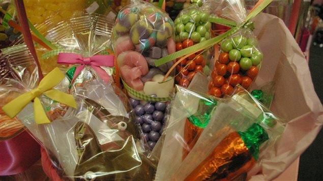 Chocolat et gâteries diverses pour Pâques
