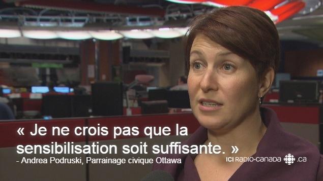 La gestionnaire de chez Parrainage civique Ottawa se garde une réserve à propos du nouveau service UberAssist.
