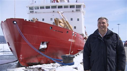Alain Gariépy, commandant du NGCC Amundsen