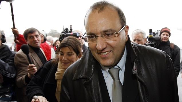 Le conseiller régional socialiste de l'Île-de-France, Julien Dray