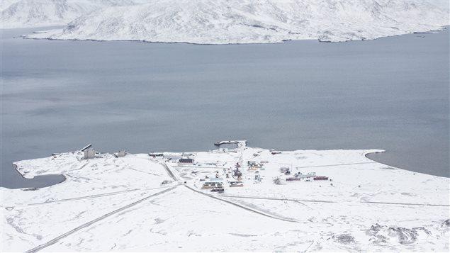 L'observatoire Zeppelin, situé sur l'île norvégienne de Svalbard, dans le cercle arctique.