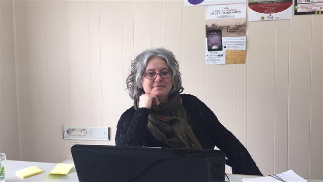 Claudette Bégin, agente socioéconomique du comité de l'est témiscamien