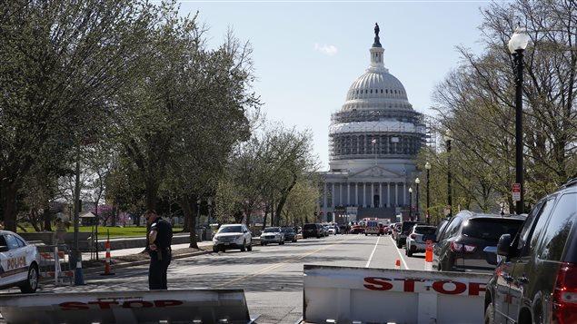 Mesures de confinement au Capitole à la suite de coups de feu