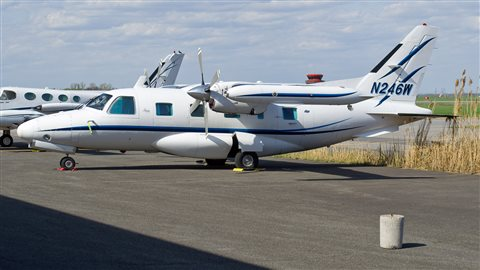 Pour Charles-Eric Lamarche, enseignant en régulation de vols au Centre de formation en transport de Charlesbourg, l'avion qui s'est écrasé ressemblait à celui-ci.