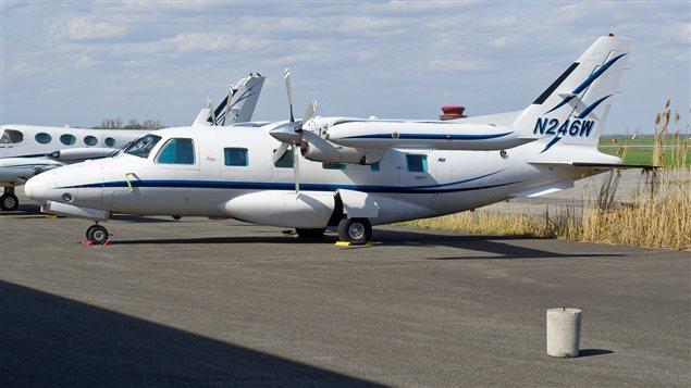 Photo de l'appareil, tirée d'un site spécialisé en aviation