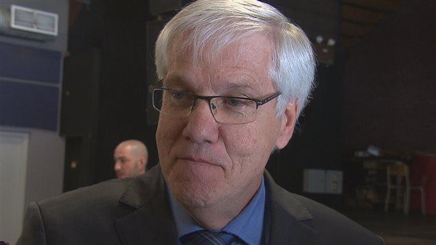 Daniel McMahon, recteur de l'UQTR