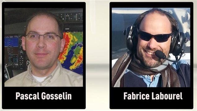 Pascal Gosselin et Fabrice Labourel