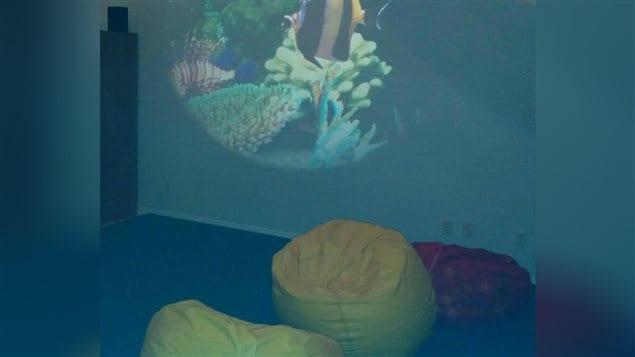 Une salle sensorielle