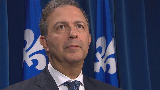 Le ministre Sam Hamad