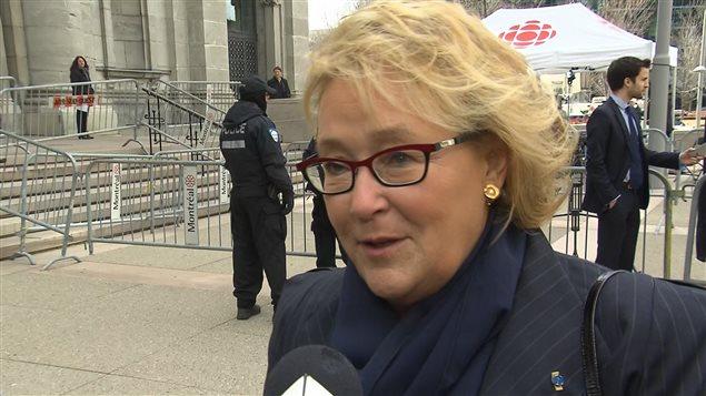 L'ex-première ministre Pauline Marois