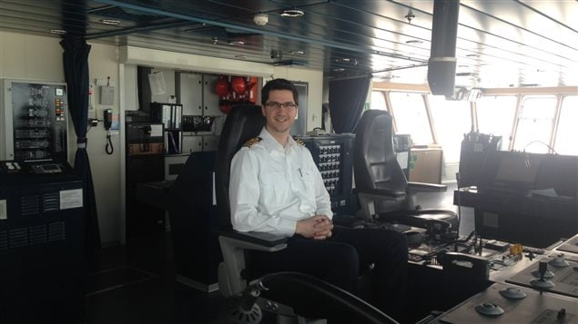 «On a hâte de reprendre la mer. Un bateau, c'est pas fait pour rester à quai, c'est fait pour se promener», dit le capitaine Séguin, le sourire aux lèvres.