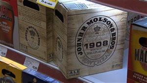 Molson lance une bière de spécialité, la John H.R. Molson & Bros. 1908.
