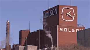 L'usine de Molson à Montréal