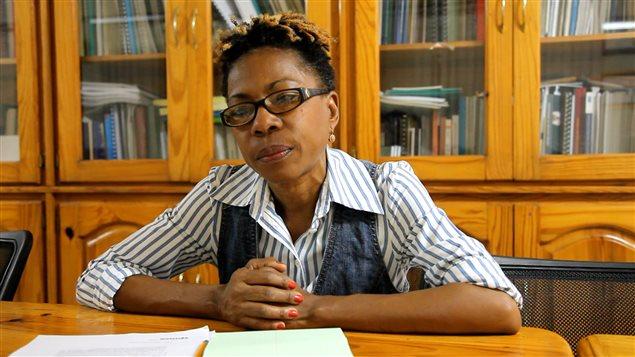 Marie-Yolaine Gilles, militante et collègue de Rosy Auguste