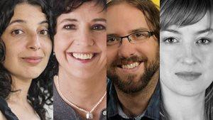 Martine Batanian, Sophie Boucher, Gabriel Marcoux-Chabot et Elsa Pépin