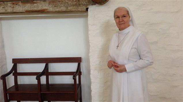 Soeur Lise Tanguay est la supérieure générale de la Fiducie du patrimoine culturel des augustines.