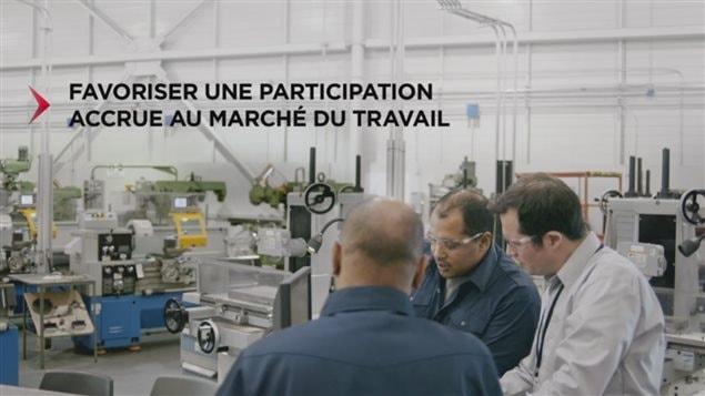 Publicité du gouvernement du Québec (capture d'écran)