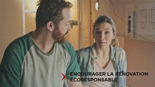 Publicité du gouvernement du Québvec (capture d'écran)