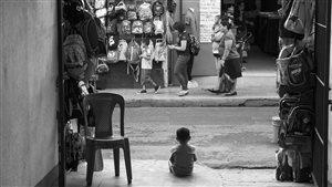 Photo tirée de l'exposition Enfant de la terre, présentée à la Place des Arts