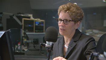 Kathleen Wynne nie avoir«peur» d'une enquête publique