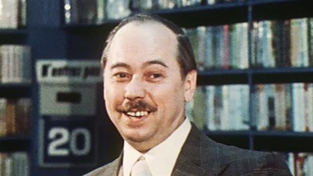 Le libraire Henri Tranquille en 1973